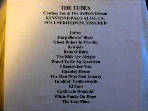 The Tubes - Cowboy Fee & The Heffer's Dream LIVE 1979
