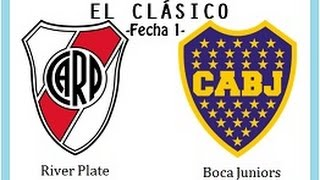 EL CLÁSICO #1: River Plate vs. Boca Juniors ★ PANINI Fútbol Argentino 2014