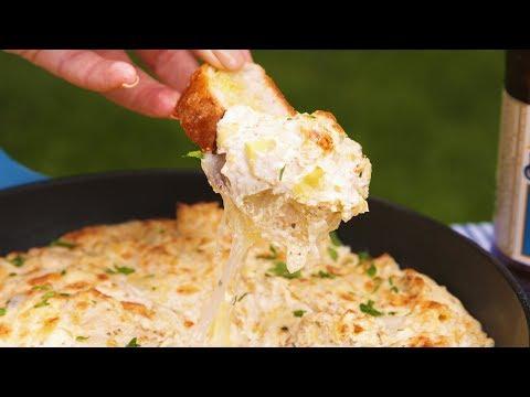 3 cheese artichoke bites