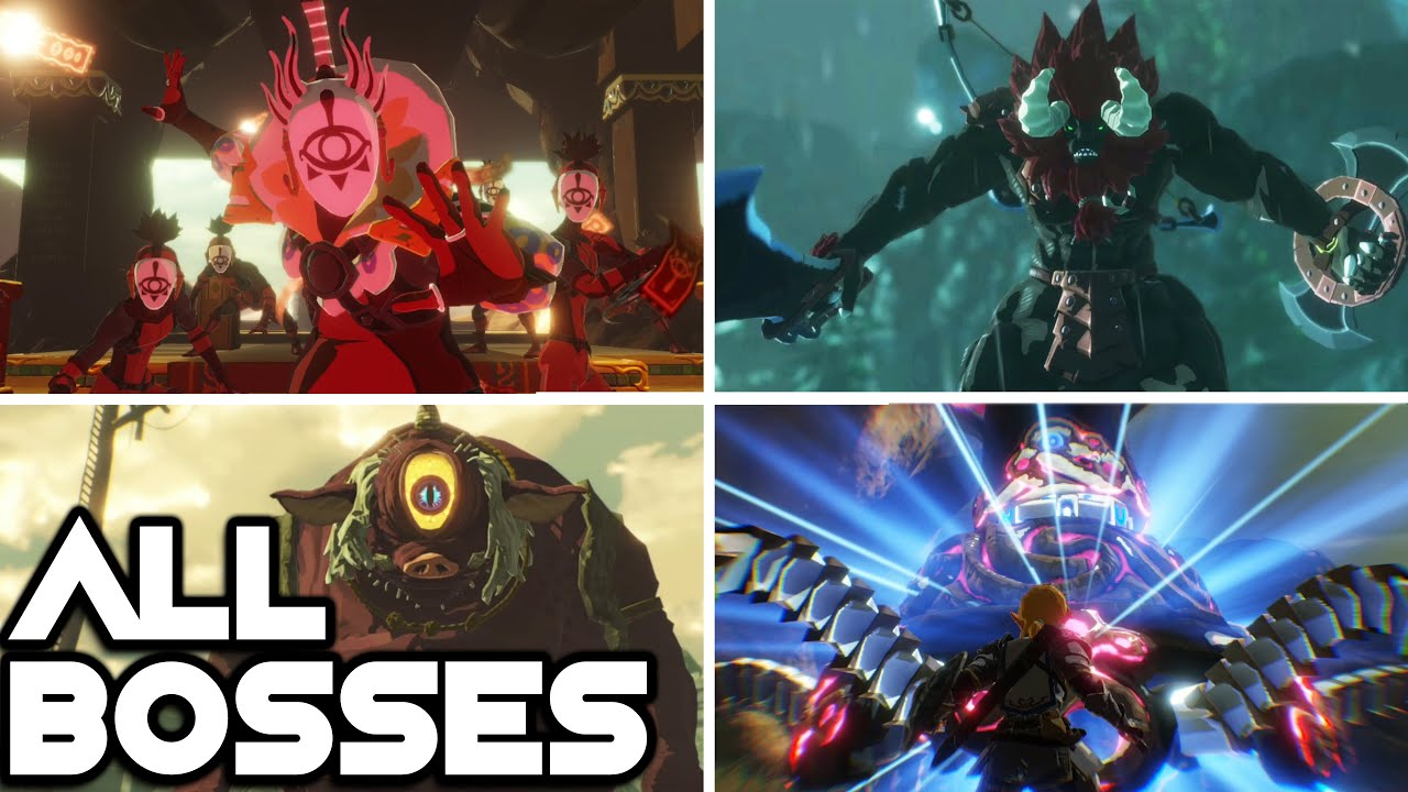 Hyrule Warriors Age Of Calamity All Bosses And Ending Youtube