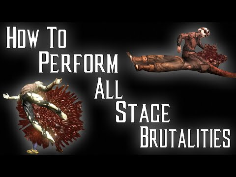 Kombat Tips - How To Perform All Stage Brutalities
