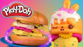 Play Doh Kitchen  Candy Burger  E2391