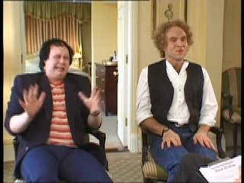Lucas & Walliams as Simon & Garfunkel
