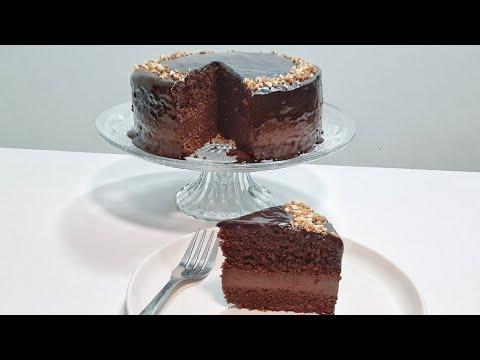 gâteau-tout-chocolat-très-simplifiée-كيكة-الشكلاطة-الفاخرة-ببيضة-واحدة-فقط