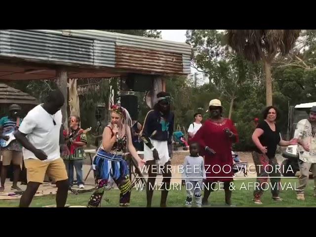 Suzie Mzuri Dance dance workshop