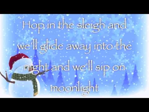 Owl City - Peppermint Winter (Lyric Video)