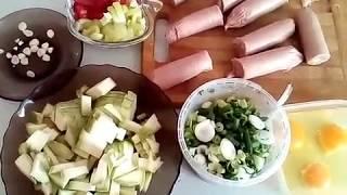 Как готовить купаты с овощами!