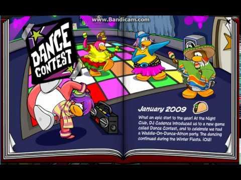 Club Penguin: All hidden pin in the 2008 - 2009 yearbook