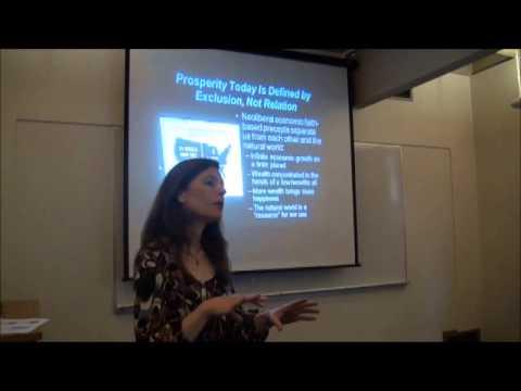 "CFGS Visiting Fellow Linda Sheehan Presents ""Reclaiming Prosperity Through Nature's Rights"""
