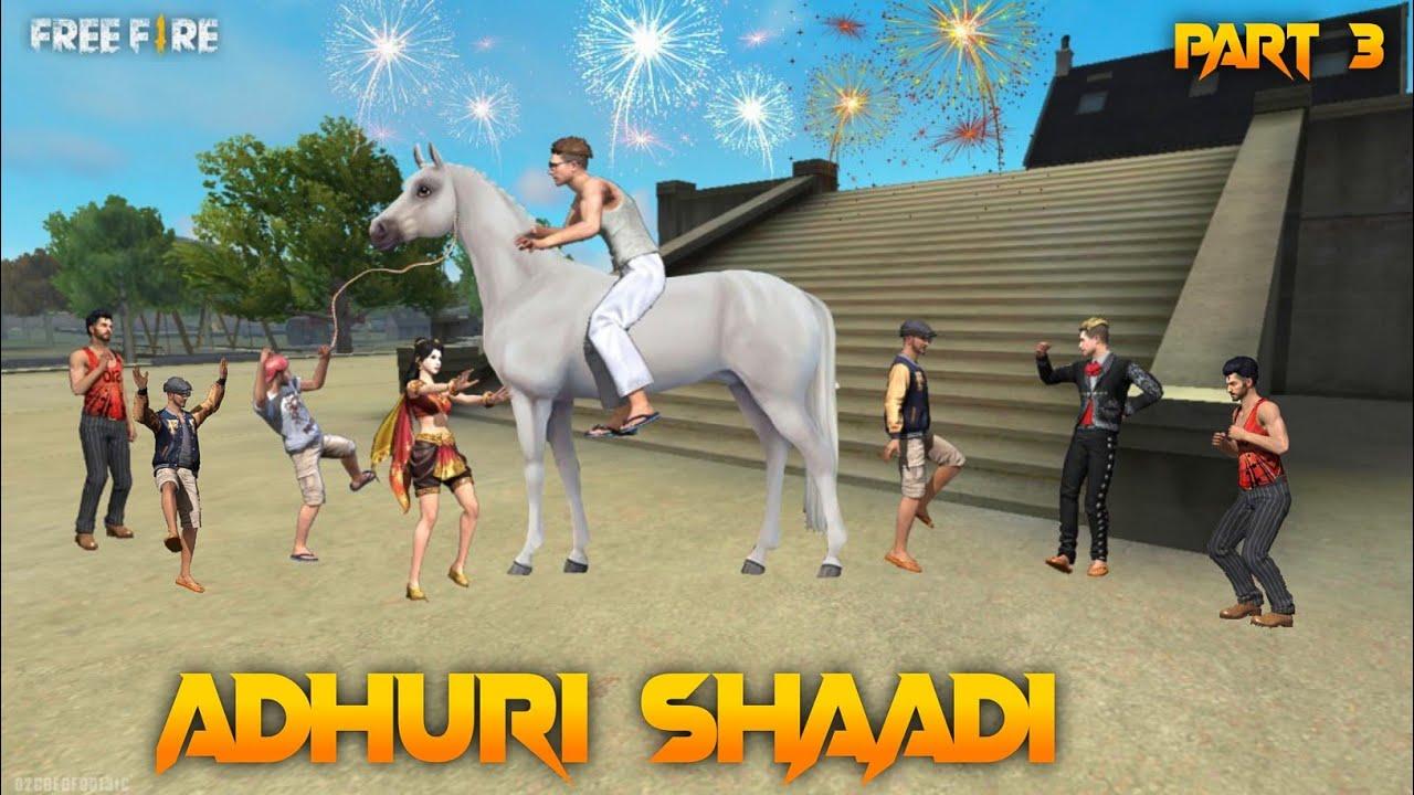 Adhuri Shaadi Part 3  [अधूरी शादी] Free fire Story Emotional Story in Hindi || Free fire Story