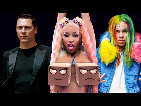 6ix9ine & Nicki Minaj vs Tiësto & The Chainsmokers – Split (Only Trollz) (Djs From Mars Bootleg)