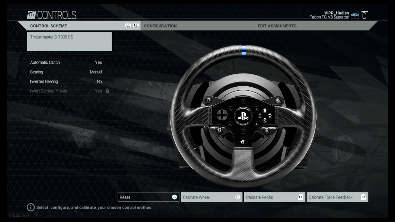 2017 ps4 t300rs thrustmaster wheel how to calibrate ffb settings project cars youtube. Black Bedroom Furniture Sets. Home Design Ideas