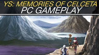 Ys: Memories of Celceta PC Gameplay (4K)