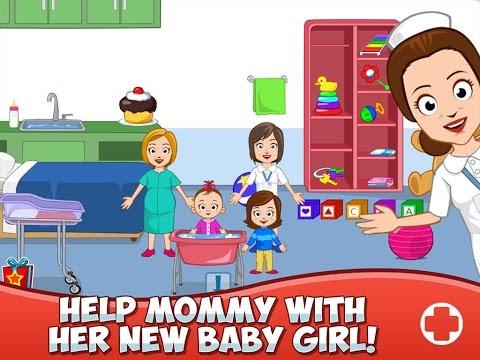 my-town-:-hospital-part-1---ipad-app-demo-for-kids---ellie