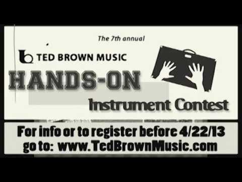 Ted Brown Music HANDS-ON INSTRUMENT CONTEST Newsreel