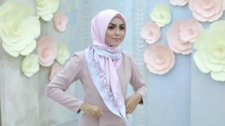 CARA MEMAKAI JILBAB SEGI EMPAT TERBARU | Tutorial Cara Memakai Jilbab Segi Empat