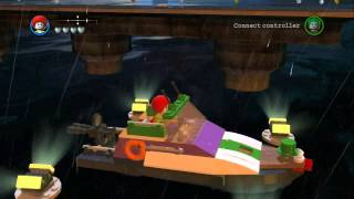 LEGO Batman 2 DC Super Heroes - All 15 Boat Vehicles in Action