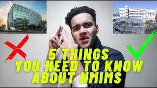 5 THINGS YOU NEED TO KNOW ABOUT NMIMS | Attendance, hostel life, parties | NMIMS Mumbai | NPAT 2021
