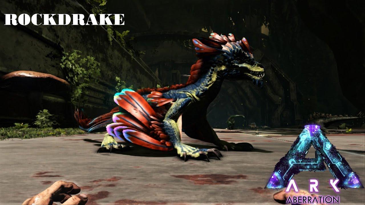Ark How To Spawn A Tamed Rock drake (Ark Survival Evolved Aberration)