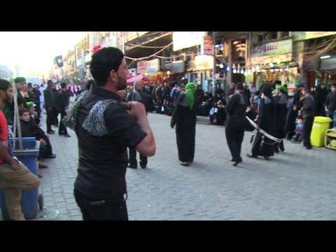 Iraqi Shiites perform Ashura rituals in Baghdad