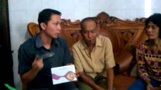 Bpk.Bakri Kandacong _ Pare-Pare Penderita Kanker Limfoma Stadium 3 Sebelum (16 april 2014)