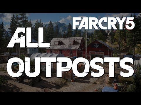 Far Cry 5 : All Outpost Liberations  [Hardest Difficulty]