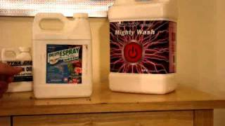 "Sider mite death solution  ""MIGHTY WASH"""