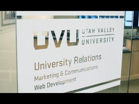 Utah Valley University's Social Media Command Center