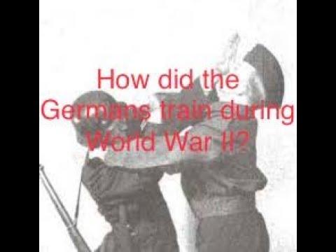 German-WW2 [Hand To Hand Combat Training] #martialarts #ww2history #worldwartwo