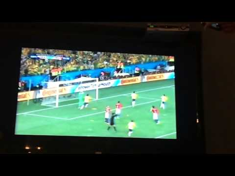 Goal  Brazil 2x1 Croatia penalty Neymar World Cup  2014 slo