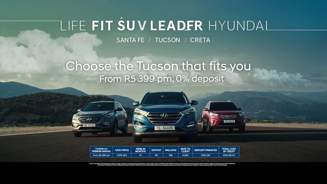 Hyundai Suv Line Up Tvc 2017