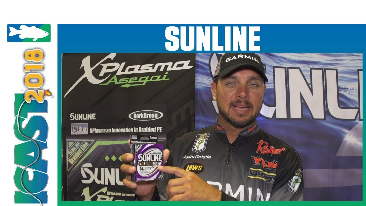 Sunline Crank FC 600 YD Spools with Jason Christie | iCast 2018