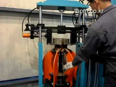 Taeheung wire extractor for electric motor th 808 youtube for Electric motor recycling machine