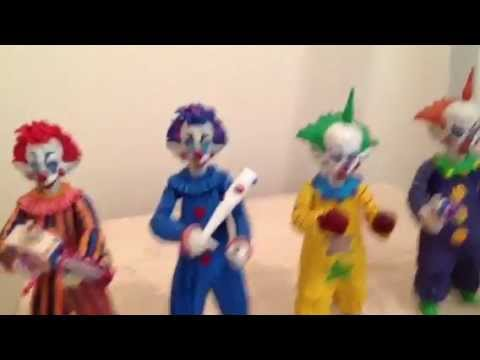 Killer Klowns Action Figures Collection Youtube