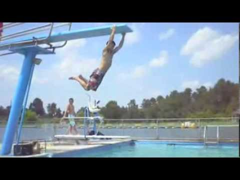 Public Swimming Pools With Diving Boards diving board tricks 2 - youtube