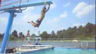 Diving board tricks 2