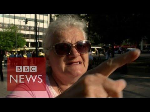 Greece debt crisis: 'No more, enough is enough' BBC News