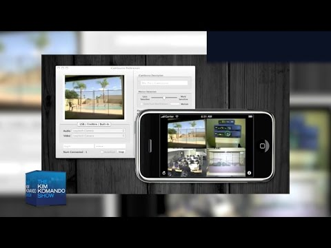 How to turn your webcam into a surveillance cam