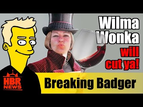 Wilma Wonka Tries to Hide Male Victimhood | BREAKING (Badger)