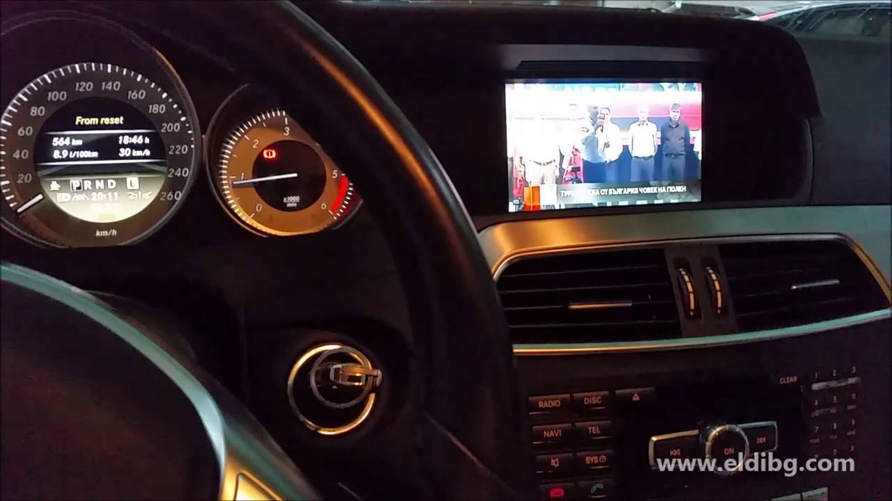 video interface for mercedes benz ntg 4 5 comand online. Black Bedroom Furniture Sets. Home Design Ideas