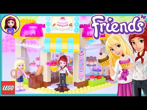 LEGO Friends Downtown Bakery Review Build Silly Play - Kids Toys