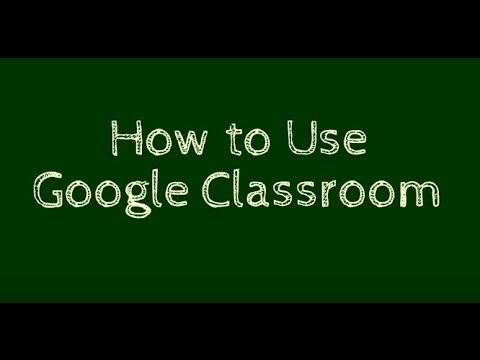 How to Use Google Classroom - YouTube
