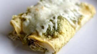 How to Make Chicken Enchiladas Verdes  Hilah Cooking