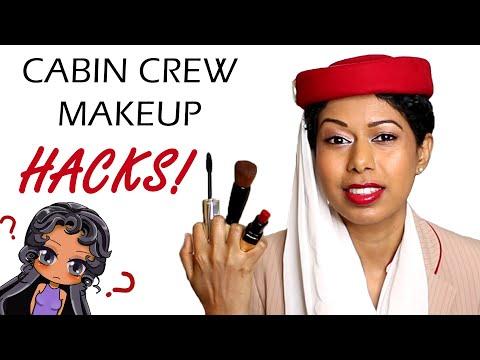 emirates-cabin-crew-skincare,-makeup,-hair;-full-routine-|emirates-crew-diaries