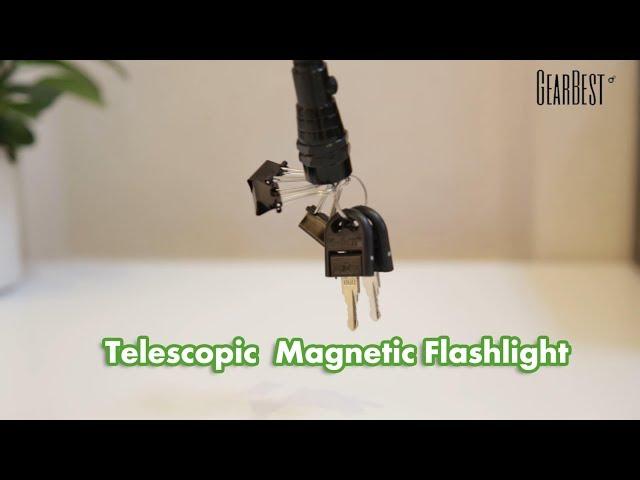 Lumen teleskopische flexible magnetische lr led