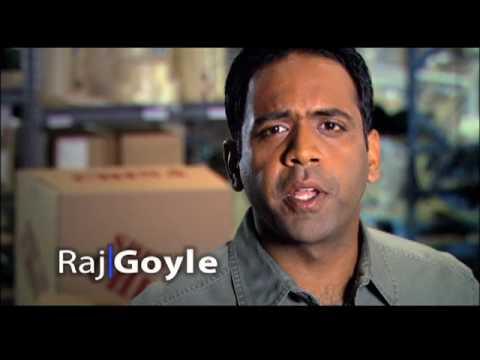 Raj Goyle TV ad: Mailroom