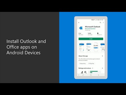 How To Install Outlook And Office Apps On Android Devices