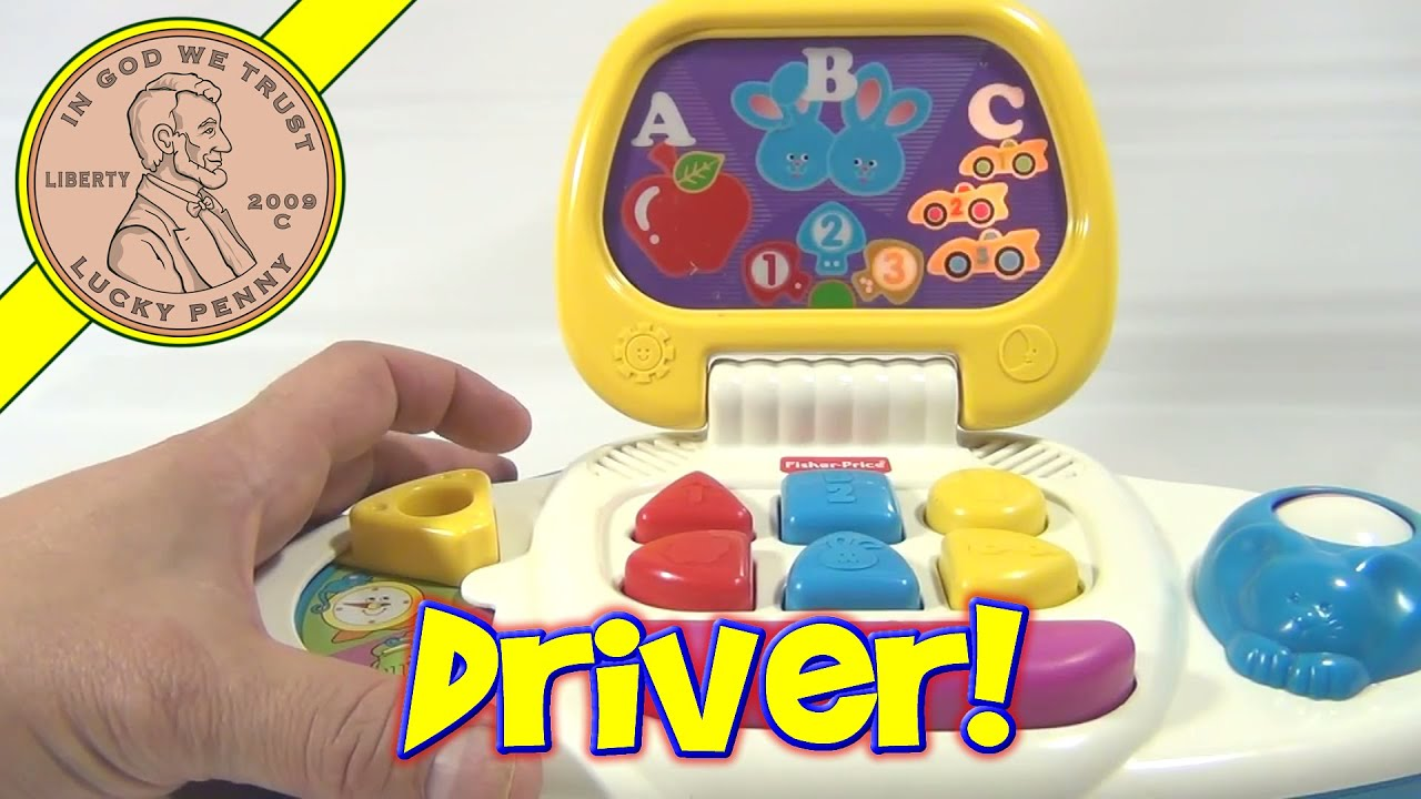 Fisher Price Lights and Sounds Laptop puter 1996