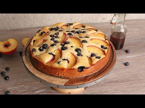 Peach & Blueberry Coffee Cake 🍑 Episode 1080