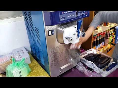 Nissei霜淇淋機清洗篇